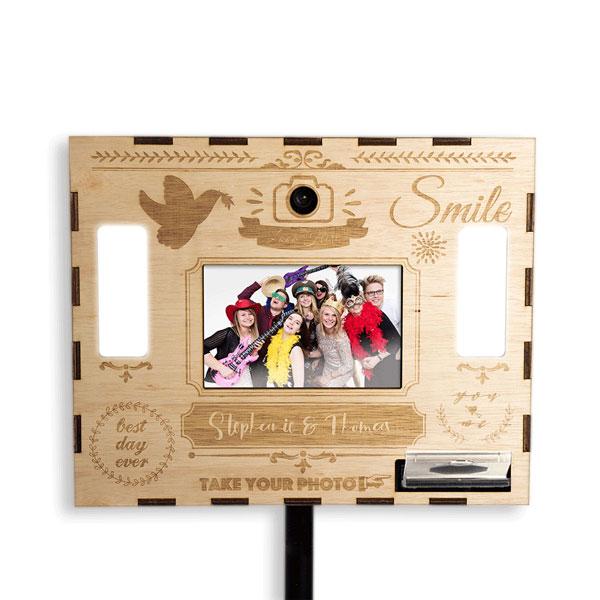 Fotobox mit Gravur